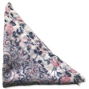 ATMOSPHERE Paisley Floral Print Blue Pink Scarf